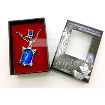 Black Butler Classic sapphire ring and Necklace Cosplay Accessory - $6.06