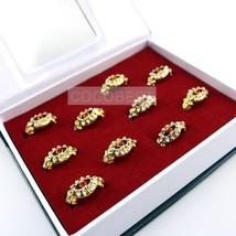Black ButlerII Ciel Phantomhive Golden ring Cosplay Accessories 10pcs/set - $12.90