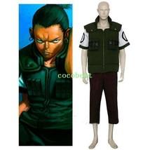 Naruto Nara Shikamaru Halloween Cosplay Costume any size vest underwear ... - $52.05