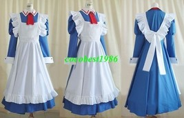 Maria Cosplay from Hayate the Combat Butler any size dress apron hair ac... - $67.39