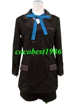 Black Butler ciel Cosplay Costume2 coat tie pant shirt Any size custom-made - $54.85