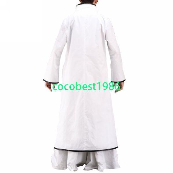 Bleach Aizen Sousuke Arrancar halloween Cosplay Costume Jacket shirt Trousers