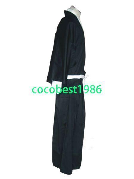 Bleach Ichigo Kurosaki / Kuchiki Rukia Soul Reaper Halloween Cosplay Costume