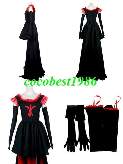Chobits Freya Cosplay Costume any size Body Skirt Legging Gloves