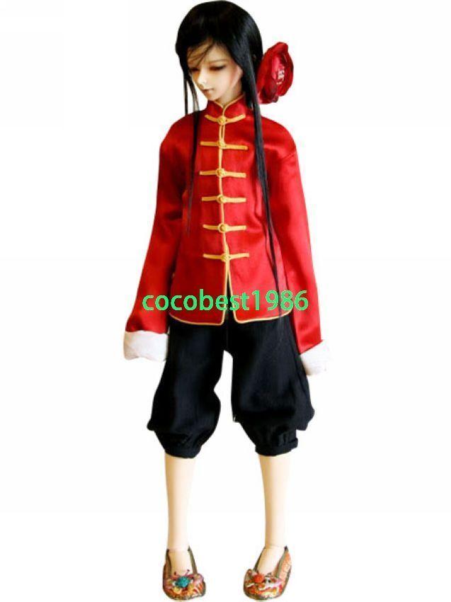 Hetalia Axis Powers China Wang Yao Cosplay Costume any size Jacket Trousers