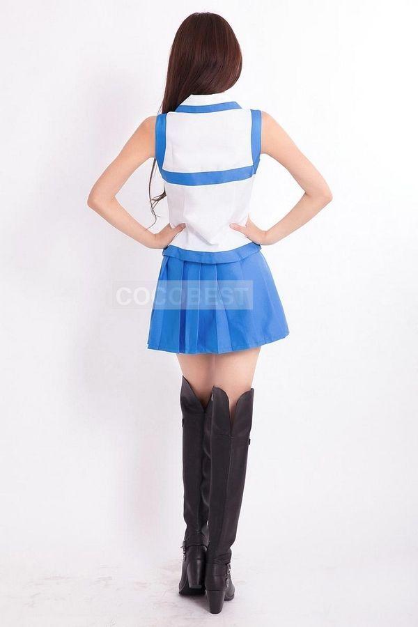Cosplay Costume-Fairy Tail Elza·Scarlet Cosplay Uniform Halloween Top skirt
