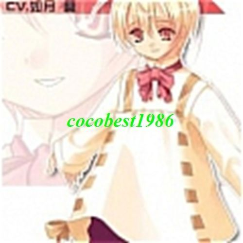 Anel Cosplay Dress from Zettai Fukuju Meirei any size dress pants bow knot