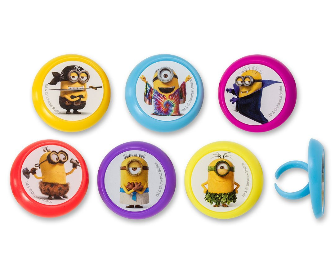 DecoPac Minions Evolution Cupcake Rings 12 And Similar Items