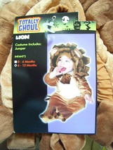 Lion Cub Deluxe Plush Halloween Costume 0-6 months - $41.14