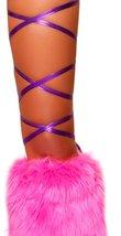 Purple Metallic Thigh Wraps - $25.25