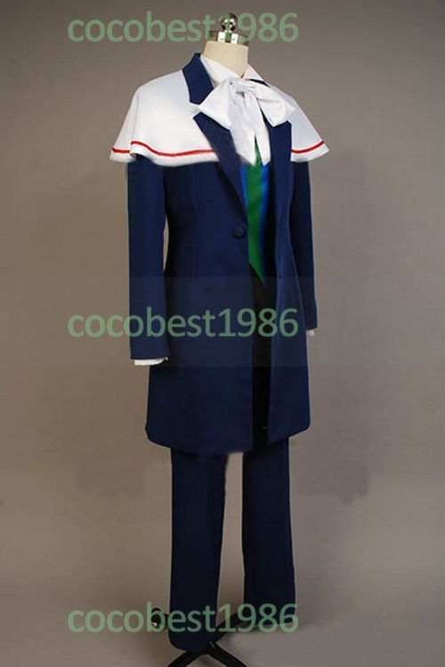 Makai ōji Devils and Realist Lord William Twining Cosplay Costume shirt coat