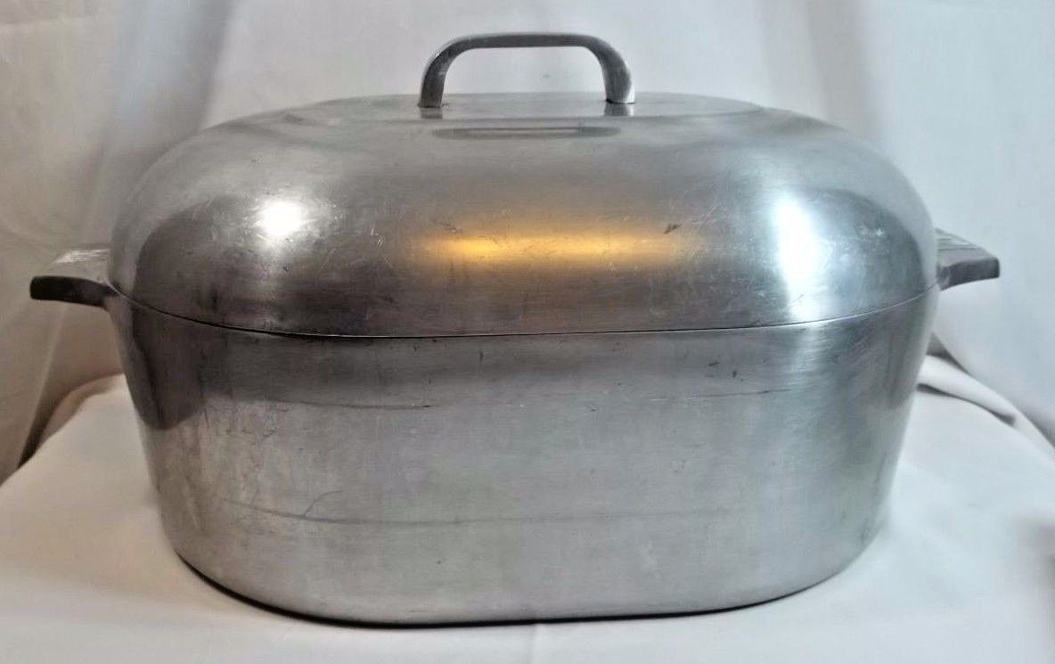 Vintage Wagner Ware Magnalite Aluminum Roasting Pan 4267 P
