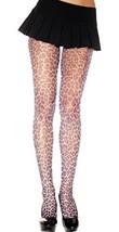 Leopard Grey and Black Fishnet Pantyhose - $23.73