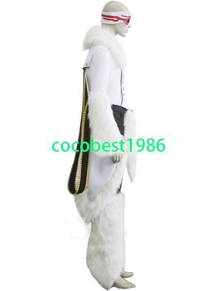 Bleach Stark Release Form Cosplay Costume Accessory Top Pant Any size