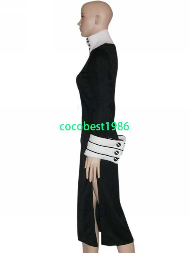 Halloween costume Soul Eater Chrona Cosplay Costume any size   Body Skirt
