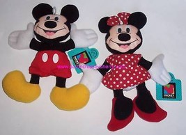 Disney Mickey Minnie Mouse Plush applause Hang Tags - $19.97