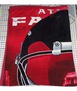 Atlanta Falcons Blanket Fleece Fuzzy Cozy Full Queen Size New - $89.95