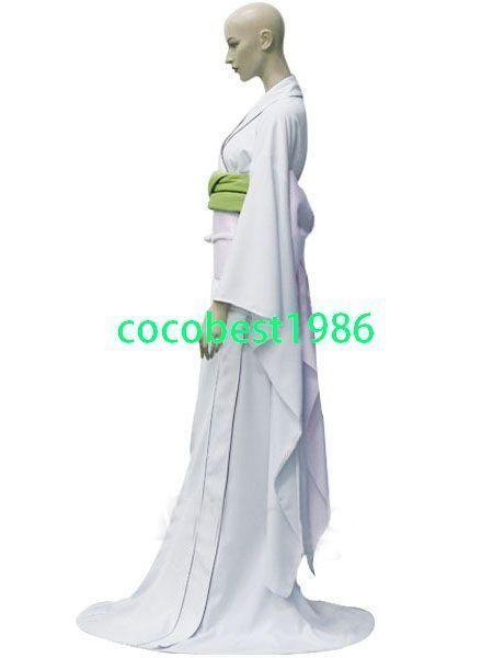 Bleach Rukia Kuchiki's Zanpakuto Sode no Shirayuki Halloween Cosplay Costume