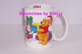 Disney Store Pooh Eeyore Tigger Piglet Coffee Mug Cup Christmas 2002 Re... - $49.95