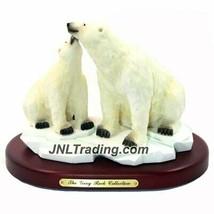Amy & Addy The Gray Rock Collection Wildlife POLAR BEAR COUPLE ON ICEBER... - $59.99