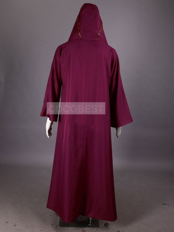 Naruto Hooded Cosplay Costume Kabuto cloak Japanese anime red long with hat