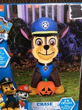 New Halloween Paw Patrol's 3.5' Chase Dressed In Costume Airblown/Inflat... - $54.44