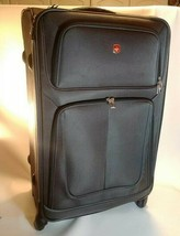"Swiss Army Gear Soft side 360 Spinner Expandable Suitcase 28' x 18"" & Lo... - $123.75"