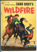 Zane Grey's Wildfire Four Color Comics #433 1953-Dell-booklength western-VG - $31.53