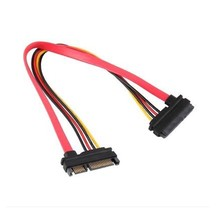 7+15 Pin Serial SATA Data power combo extension Cable Computer PC A27