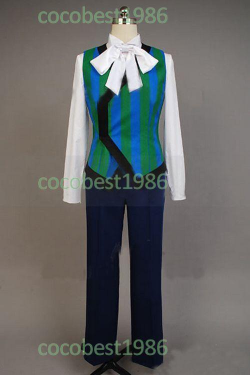 Makai ōji Devils and Realist Lord William Twining Cosplay Costume shirt coat
