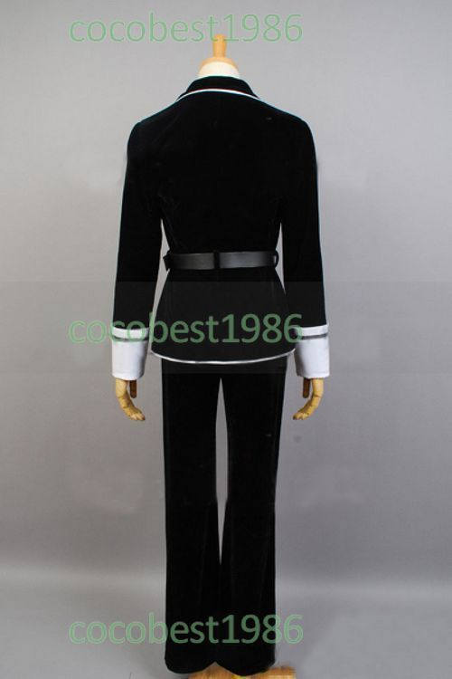 DIABOLIK LOVERS Ayato Sakamaki Cosplay Costume Any size shirt Sash coat pants
