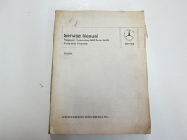 1968 Mercedes Series 114 115 Passenger Cars Body & Chassis Vol 1 Service... - $39.59
