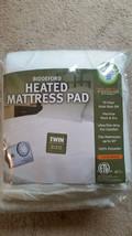 Twin Biddeford Heated Mattress Pad, 10 Heat Settings Auto Shutoff 5 yr w... - $45.53