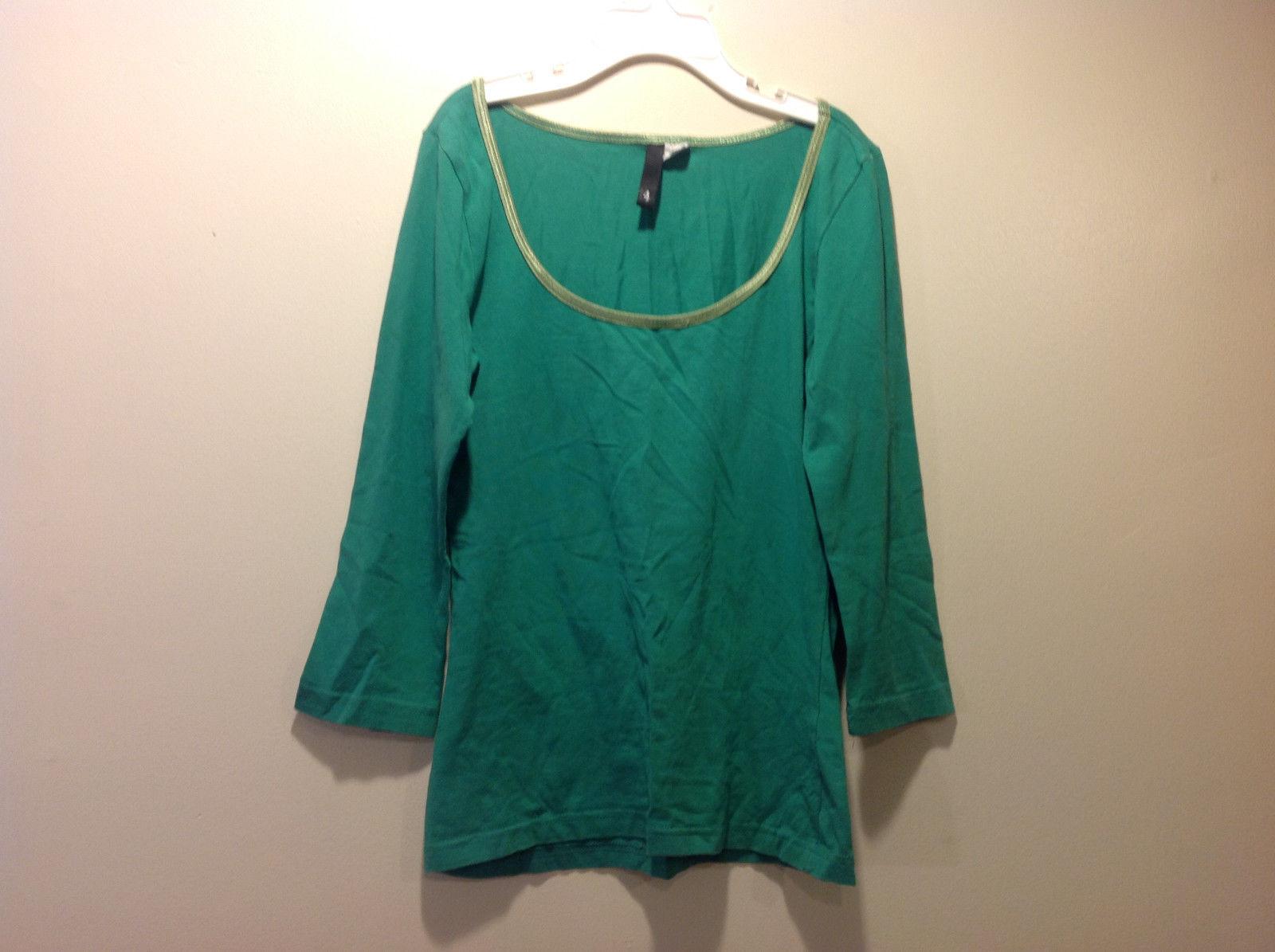 H & M Kids Green long sleeve shirt