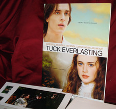 """Tuck Everlasting"" Press Kit With 5 Photo Sheets - Mint! - $19.95"
