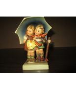 M.J.Hummel Figurine #71 Vintage Stormy Weather Boy/Girl Under Umbrella 1... - $475.00