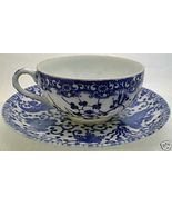 OCC JAPAN 1940s Eggshell BLUE PHOENIX FINE CHINA TEACUP - $38.99