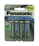 Panasonic Batteries AA 4-Pack Super Heavy Duty Batteries   - $4.96