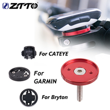 Ztto Mtb Road Bike Computer Support Top Cap Bike Gps Garmin Bryton Cateye - $14.80