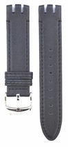 Swatch In a Classic Mode YTS100 20mm Black Leat... - $39.59