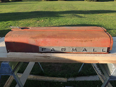 Farmall 460 RC IHC IH Tractor Engine Motor Hood Cover Panel & Chrome Emblem