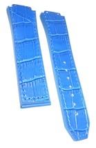 Compatible Hublot Bigbang 24mm Blue Leather Pla... - $39.59