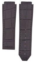 Hublot Bigbang 24mm Black Leather Plated Black ... - $39.59