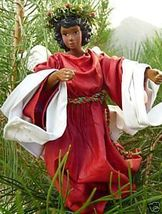 BLACK Victorian Angel in RED by CLOTHTIQUE 1980... - $29.99
