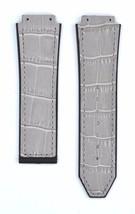 Compatible Hublot Bigbang 26mm Gray Leather Pla... - $39.59