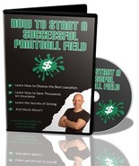 How Start a Successful Paintball Field Audio CD & E-book Recession Proof... - $95.00