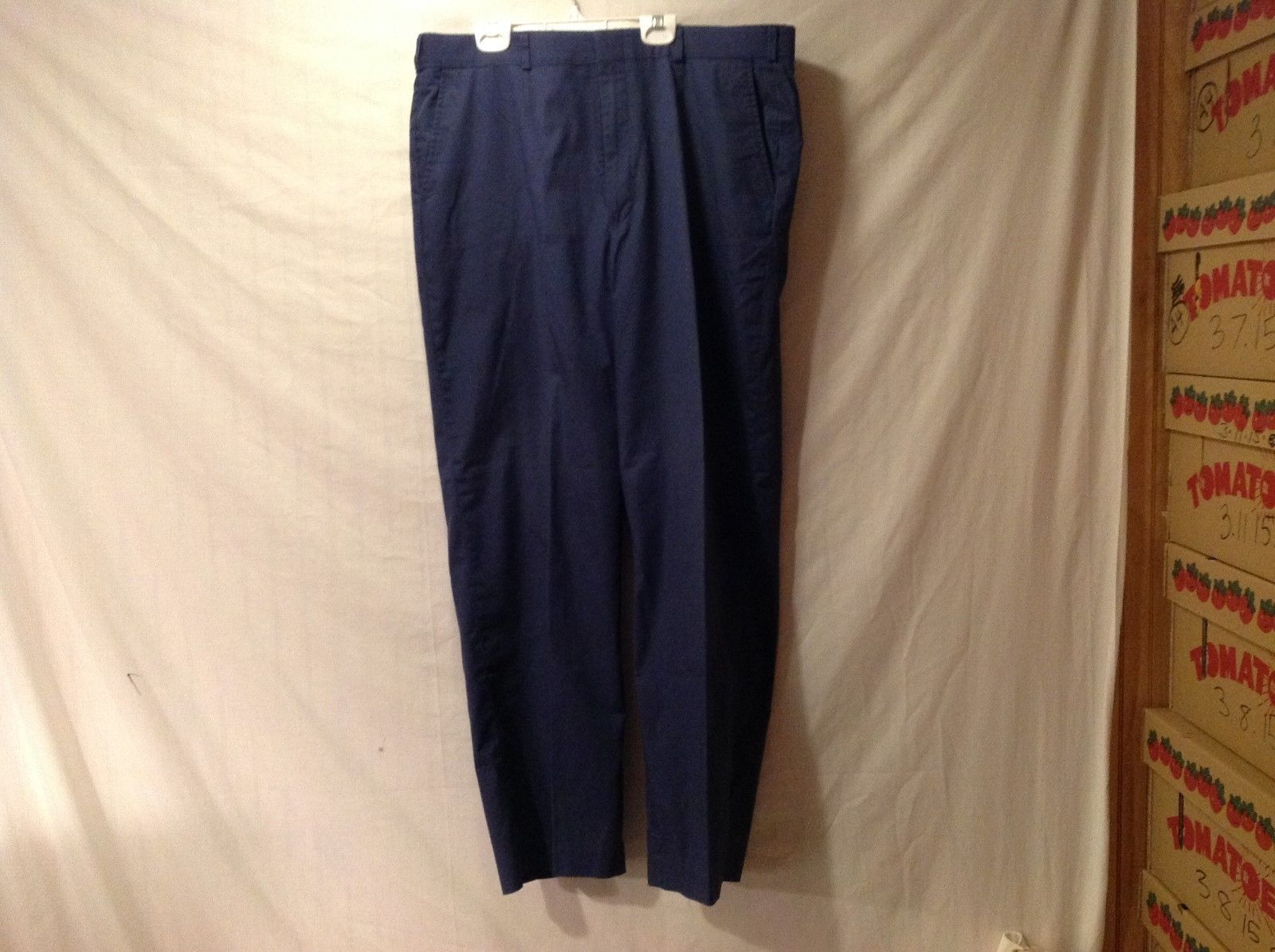 Mens Thomson Navy Blue Chinos Dress Pants