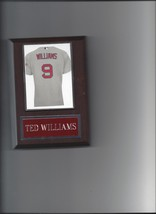 Ted Williams Jersey Plaque Baseball Boston Red Sox Photo Plaque - $2.96