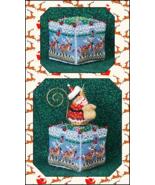 8 Tiny Reindeer Cube & Embellishments cross sti... - $13.05