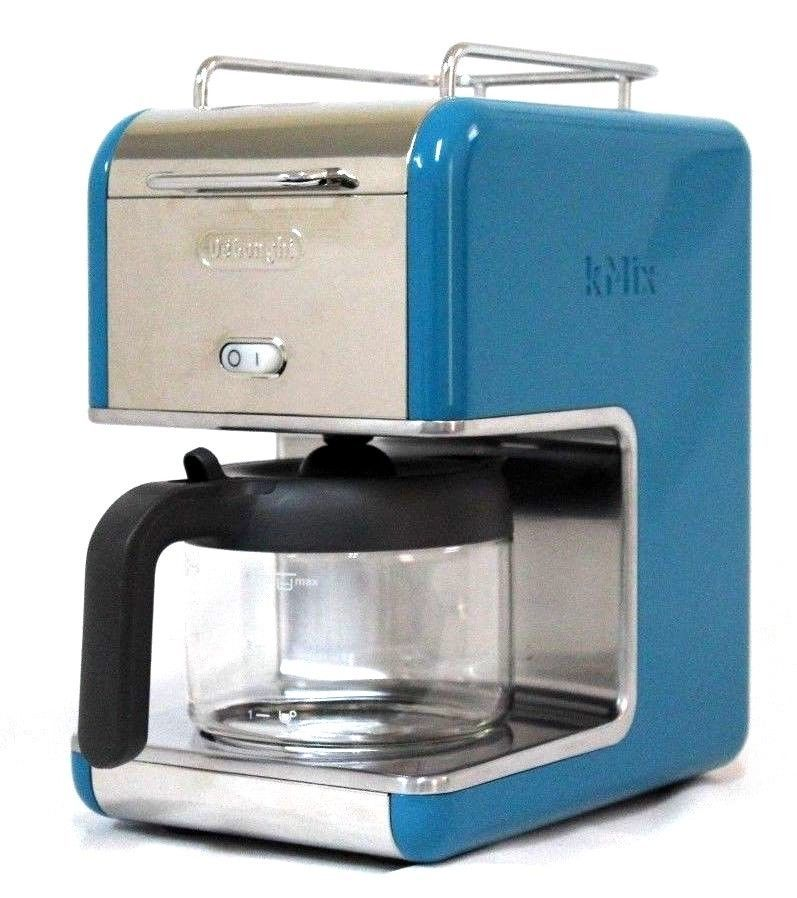 Delonghi Coffee Maker Blue : DeLonghi Kmix 5-Cup Drip Coffee Maker, Blue - Coffee Makers (Automatic)